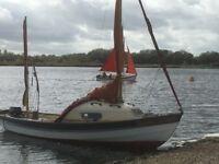 Drascombe Coaster Dinghy Boat