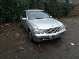 Mercedes c200 auto 2l petrol