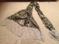 Ladies scarf / wrap - camouflage