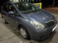 nice n clean 2002 toyota corolla 1.6 verso with service history+mot+tax+FREE DELIVERY OR DRIVEAWAY