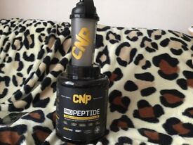 Brand new ..CNP PRO PEPTIDE WITH BEAKER TO MIX £30