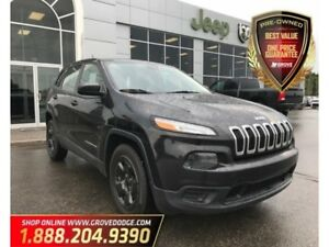 2014 Jeep Cherokee Sport| Cloth| Remote Start| AUX| Bluetooth