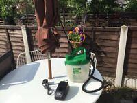 Cuprinol power sprayer battery operated good as new