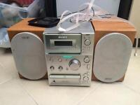 Sony cmt cp101 cd tape am/fm radio