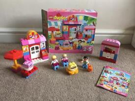 Lego duplo pink set