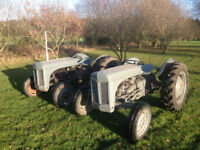 2 Ferguson Tractors TED and TEF 20