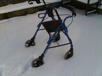 Z-TEK mobility safety Rollator.