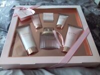 Next brand knew 6 peace gift set includes a bottle of perfume body lotion and more