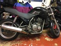 Sachs 650 Roadster (Suzuki Dr Big 650 Engine) Track or cheap fun with reliability. Cafe Racer/shed