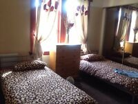 Double room for let, non smoker, shared bathroom with one other room, high standard of decor