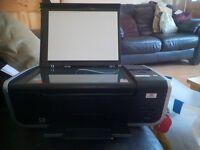 must go tonight lexmark x4650 wifi printer/scanner with power lead needs usb cable and needs ink