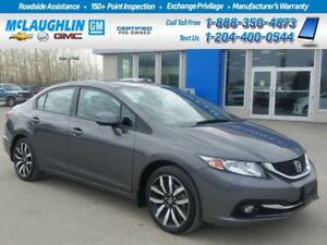 2013 Honda Civic *Lthr Int *Back Up Cam *Bluetooth *Sunroof