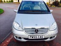 AUTOMATIC! Diesel Mercedes A 200..2.L CDI Elegance SE* 2006..Long MOT 2017..90k mint car £1750