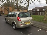 2008 RENAULT GRANDE SCENIC 7 SEATER WITH LONG MOT 1 PREVIOUS OWNER DRIVES VERY WELL