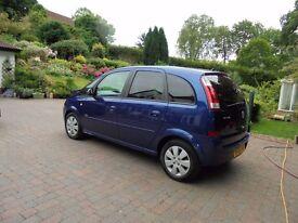 Very tidy Vauxhall Meriva