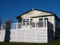 Stunning luxury lodge sited on premier site in Caernarfon North Wales