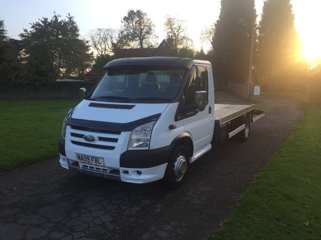 2009 Ford Transit Recovery Truck 16ft Alloy Body St Kit GBPGBPGBPGBP Extras