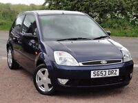 Ford Fiesta 1.4 Zetec, 3 Door Hatchback, 2003 / 53 Reg, Only 50k Miles, 2 Owners