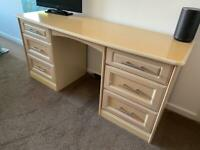 Dressing Table & 2x Bedside Tables (without handles)