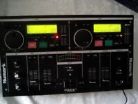 NUMARK Cd MIX 1 PROFESSIONAL CD MIXING CONSOLE working