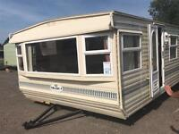 Beautiful double glazed static mobile home caravan