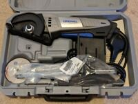 Dremel DSM20-3/4 Compact Saw with 3 Attachments and 4