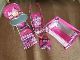 Childs Graco Baby Set