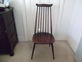 Ercol High Backed Retro Chairs