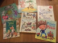 Selection of children's books age 2-6