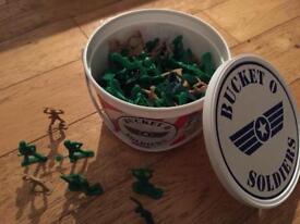 Bucket of soldiers