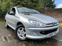 Peugeot 206 Low Mileage Long Mot Drives Great Cheap Car !!!