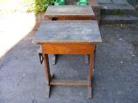 2x old desks