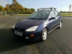 Ford Focus 1.8 petrol manual in very clean condition for the age