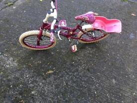 """Raleigh crush 20"""" girl's bike"""