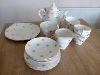 Regency china tea set