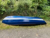 Cornish Crabbers Coble - Blue and White - 16'x6' - Repairs Required