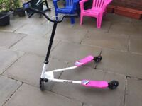 Pink Flickr Scooter