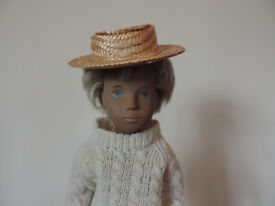 Vintage 1970's Straw Hat For Gregor Sasha Doll