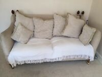 3 seater and 2 seater fabric sofa for sale
