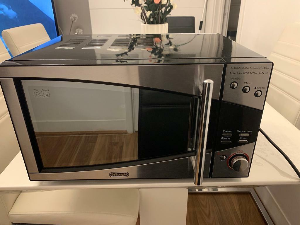 Delonghi P80d20el T5a H 20l Standard Microwave Stainless Steel 800w