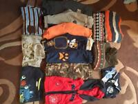 Bundle boys clothes from 9 - 18 months..