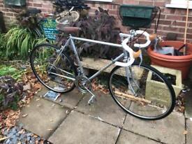 Vintage Retro Bianchi Road Bike