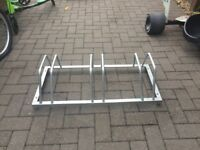 Cycle rack for 3 bikes