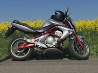 Kawasaki er6n 2008 with abs brakes