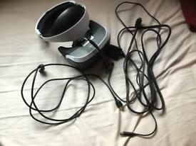 PS4 visual reality headset with a PS4 camera ( or nearest offer )