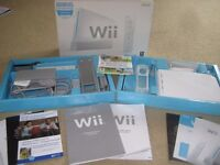 NINTENDO WII SPORTS CONSOLE, GAME AND ACCESSORIES