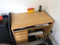 Wood Computer desk for sale