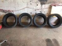 295/40/20 tyres x4