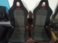 Honda Civic Type R EP3 Front Bucket Seats with rails
