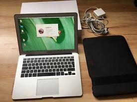 MacBook Air 13- inch, 4GB memory, 250GB flash drive Hard drive